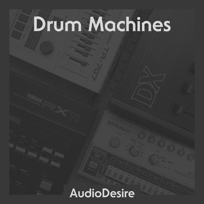 Drum Machines Cover Art
